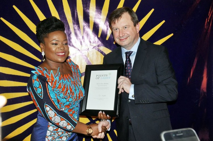Queen Elizabeth honours Eze-Anaba with Commonwealth Point of Light Award