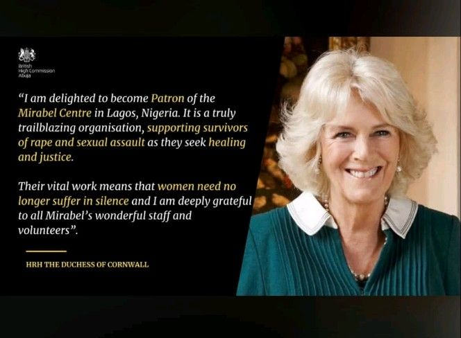 HRH THE DUCHESS OF CORNWALL BECOMES THE FIRST PATRON OF THE MIRABEL CENTRE